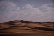 Dunes on horizon